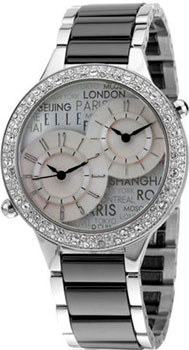fashion наручные  женские часы Elle 20235B01X. Коллекция Ceramic