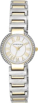 fashion наручные  женские часы Anne Klein 2037SVTT. Коллекция Crystal