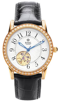 fashion наручные  женские часы Royal London 21179-01. Коллекция Automatic