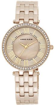 fashion наручные  женские часы Anne Klein 2130TNGB. Коллекция Ceramics