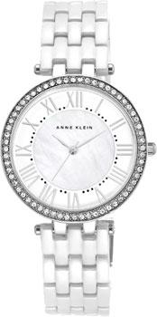 fashion наручные  женские часы Anne Klein 2131WTSV. Коллекция Ceramics