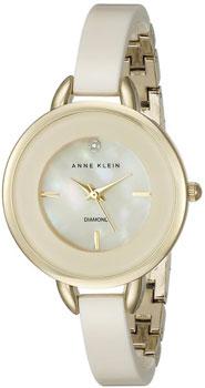 fashion наручные  женские часы Anne Klein 2132IVGB. Коллекция Diamond
