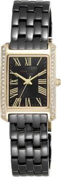 fashion наручные  женские часы Anne Klein 2138BKGB. Коллекция Crystal
