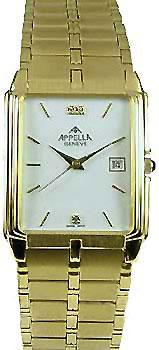 Мужские наручные швейцарские часы в коллекции Square Line Appella
