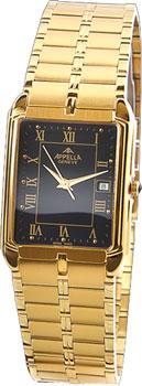 Швейцарские наручные  мужские часы Appella 215.01.0.0.04. Коллекция Classic