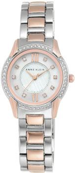 fashion наручные  женские часы Anne Klein 2161MPRT. Коллекция Crystal