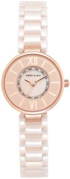 fashion наручные  женские часы Anne Klein 2178RGLP. Коллекция Ceramics