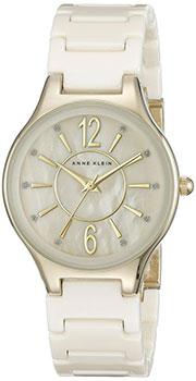 fashion наручные  женские часы Anne Klein 2182IVGB. Коллекция Crystal