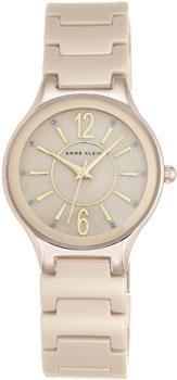 fashion наручные  женские часы Anne Klein 2182TNGB. Коллекция Ceramics