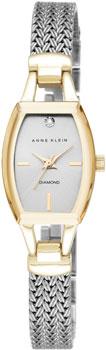 fashion наручные  женские часы Anne Klein 2185SVTT. Коллекция Diamond