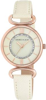 fashion наручные  женские часы Anne Klein 2192RGIV. Коллекция Crystal