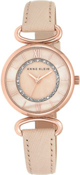 fashion наручные  женские часы Anne Klein 2192RGLP. Коллекция Crystal
