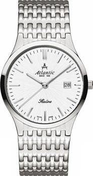 Швейцарские наручные  женские часы Atlantic 22347.41.21. Коллекция Sealine