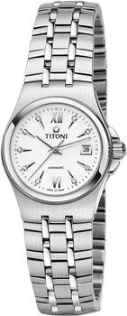 Швейцарские наручные  женские часы Titoni 23730-S-271. Коллекция Impetus