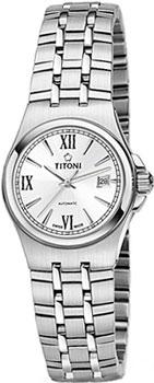 Швейцарские наручные  женские часы Titoni 23730-S-520. Коллекция Impetus