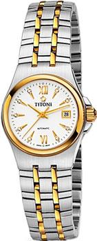 Швейцарские наручные  женские часы Titoni 23730-SY-271. Коллекция Impetus