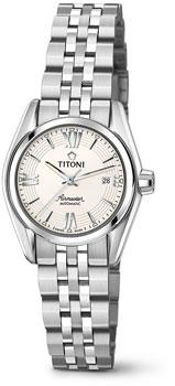 Швейцарские наручные  женские часы Titoni 23909-S-342. Коллекция Airmaster
