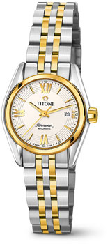 Швейцарские наручные  женские часы Titoni 23909-SY-342. Коллекция Airmaster