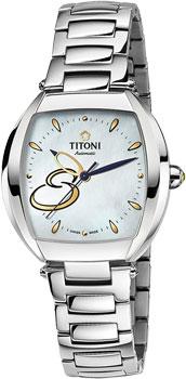 Швейцарские наручные  женские часы Titoni 23976-S-502. Коллекция Miss Lovely