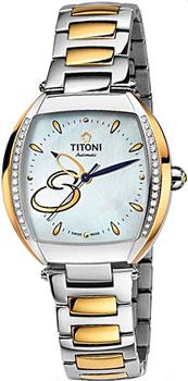 Швейцарские наручные  женские часы Titoni 23976-SY-DB-502. Коллекция Miss Lovely
