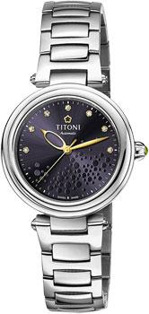 Швейцарские наручные  женские часы Titoni 23977-S-509. Коллекция Miss Lovely