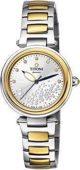 Швейцарские наручные  женские часы Titoni 23977-SY-508. Коллекция Miss Lovely