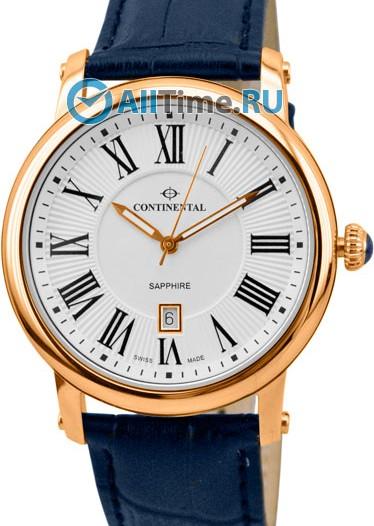 Мужские наручные швейцарские часы в коллекции Classic Statements Continental