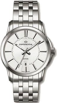 Швейцарские наручные  мужские часы Continental 24150-GD101130. Коллекция Sapphire Splendour