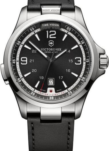 Мужские наручные швейцарские часы в коллекции Night Vision Victorinox