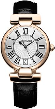 Швейцарские наручные  женские часы Aerowatch 24932-RO08. Коллекция Harlequin