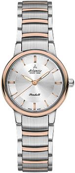 Швейцарские наручные  женские часы Atlantic 26355.43.21R. Коллекция Seashell