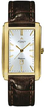 Швейцарские наручные  мужские часы Atlantic 27343.45.21. Коллекция Seamoon