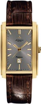 Швейцарские наручные  мужские часы Atlantic 27343.45.41. Коллекция Seamoon