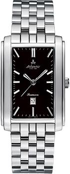 Швейцарские наручные  мужские часы Atlantic 27348.41.61. Коллекция Seamoon