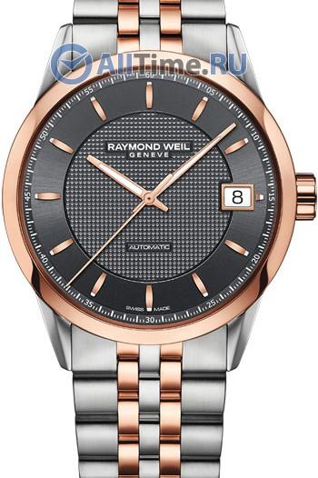 Мужские наручные швейцарские часы в коллекции Freelancer Raymond Weil