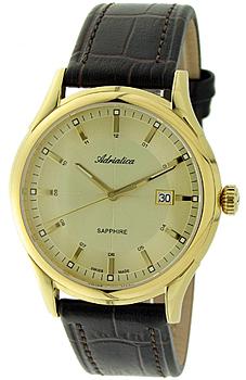Швейцарские наручные  мужские часы Adriatica 2804.1211Q. Коллекция Gents