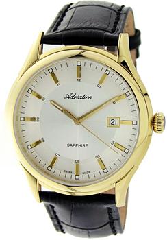 Швейцарские наручные  мужские часы Adriatica 2804.1213Q. Коллекция Gents