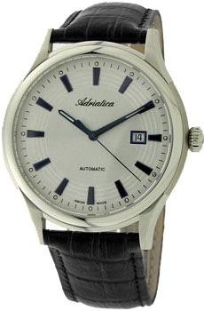 Швейцарские наручные  мужские часы Adriatica 2804.52B3A. Коллекция Automatic