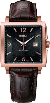 Швейцарские наручные  мужские часы Doxa 290.30R.113R.02. Коллекция Classic