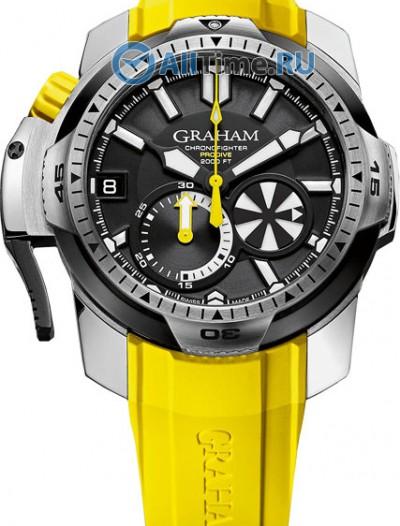 Мужские наручные швейцарские часы в коллекции Prodive Graham