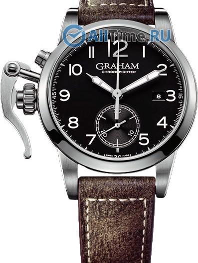Мужские наручные швейцарские часы в коллекции Chronofighter 1695 Graham