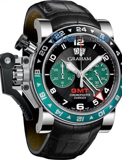 Мужские наручные швейцарские часы в коллекции Chronofighter Graham
