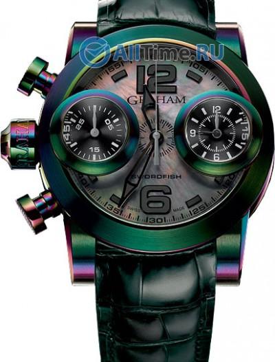 Мужские наручные швейцарские часы в коллекции Swordfish Graham