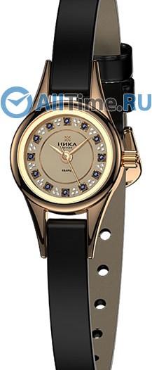 Женские наручные золотые часы в коллекции Фиалка Ника