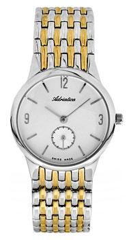 Швейцарские наручные  женские часы Adriatica 3129.2153Q. Коллекция Twin