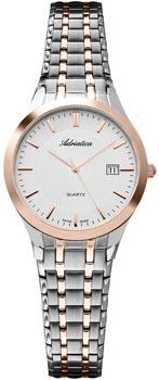 Швейцарские наручные  женские часы Adriatica 3136.R113Q. Коллекция Ladies