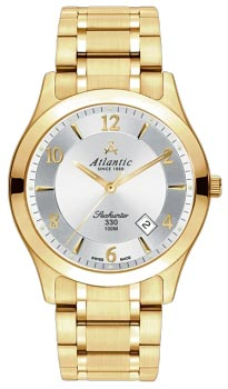 Швейцарские наручные  женские часы Atlantic 31365.45.25. Коллекция Seahunter