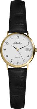 Швейцарские наручные  женские часы Adriatica 3143.1223Q. Коллекция Twin