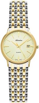 Швейцарские наручные  женские часы Adriatica 3143.2111Q. Коллекция Twin