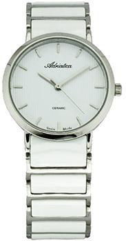 Швейцарские наручные  мужские часы Adriatica 3155.C113Q. Коллекция Ceramic